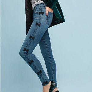 Sz 26 McGuire bow jeans